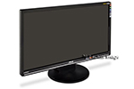 DELL LCD FLAT PANEL MONITOR 24