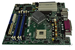 System board, Intel 915G, Gigabit Ethernet, with P